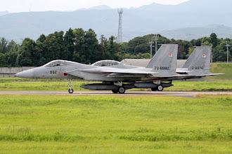 Photo: 07から編隊離陸するF-15J/DJを170mmで撮影