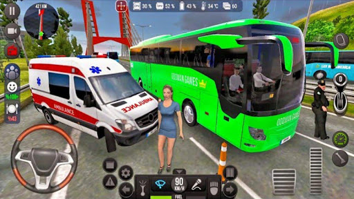 Modern Bus Simulator Drive 3D: New Bus Games Free screenshots 12