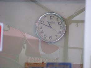 Photo: Backwards clock. Yeah. We need to go deeper.