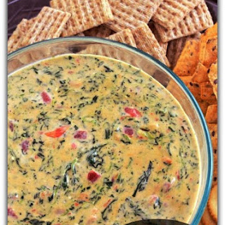 Easy Spicy Spinach Dip.