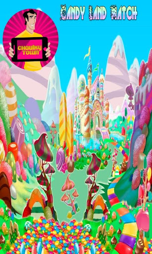 Candy Land Match for Kids