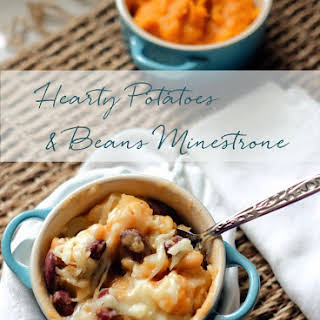 Hearty Potatoes and Beans Minestrone.