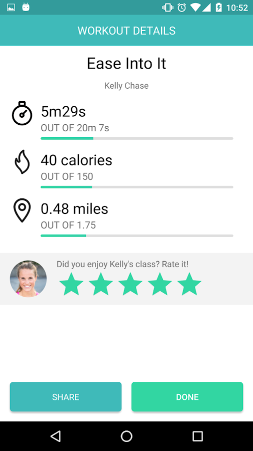 Aaptiv: #1 Audio Fitness App- screenshot