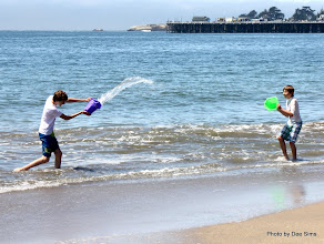 Photo: (Year 3) Day 22 -  The First of Many Water Fights #2