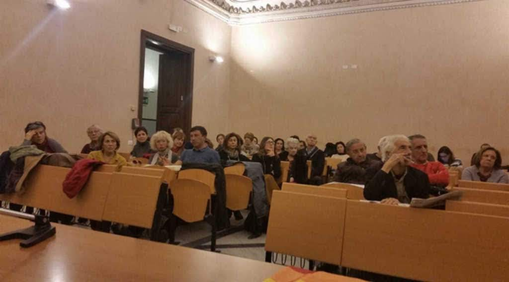 assemblea Uni CT contro i droni a Sigonella