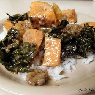 Earthy Indian Kale Casserole.