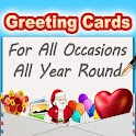 Greeting Cards App - Free icon