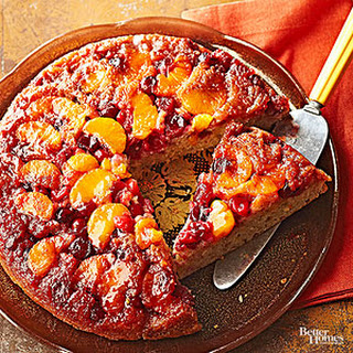 Cranberry Orange Upside-Down Spice Cake