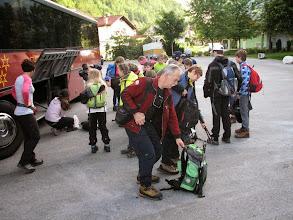 Photo: Na pot smo jo mahnili v dveh skupinah.  Starejši iz Stahovice...