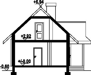 Zawoja dw6 - Przekrój