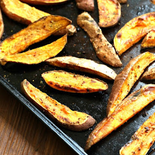 Aji Amarillo Spiced Sweet Potato Wedges + RawSpiceBar Giveaway!