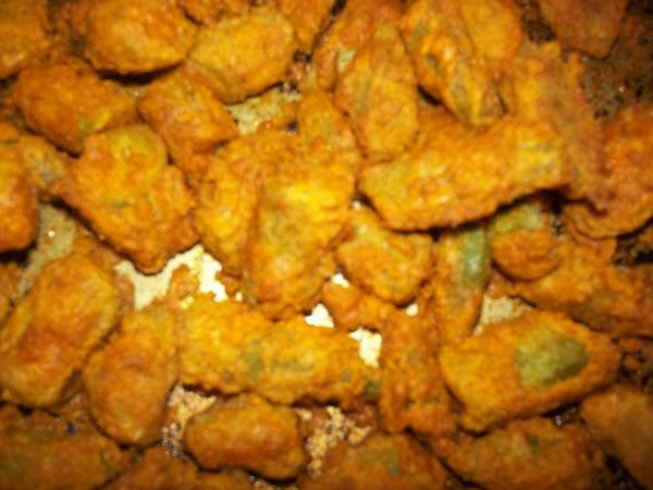 Bea's Oven Fried Okra Recipe