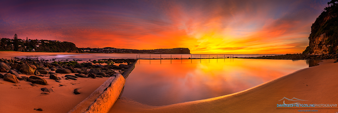 Photo: Awesome sunrise this morning! Taken at McMaster's beach, NSW