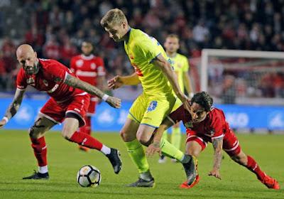 La Gantoise s'impose à l'Antwerp dans les derniers instants et reprend la 5e place à Anderlecht
