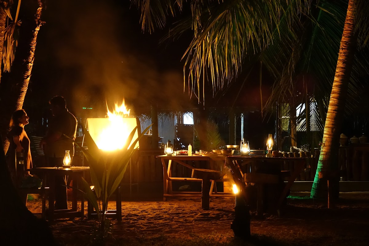Sri. Lanka Kalpitiya Valampuri Resort. BBQ Night