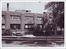 Photo: North University Building, c. 1960, Main Campus, University of Michigan, Ann Arbor