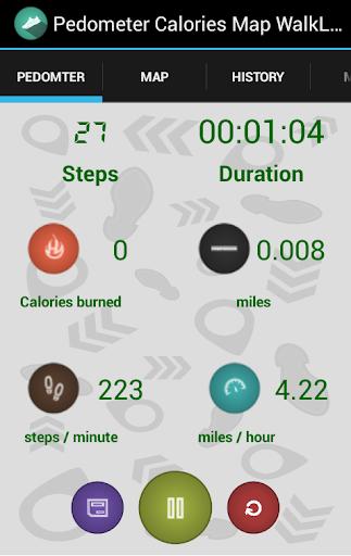 计步器日志 - 卡路里步骤