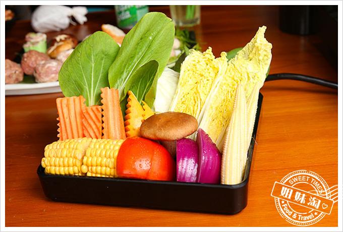 春囍打邊爐綜合蔬菜盤