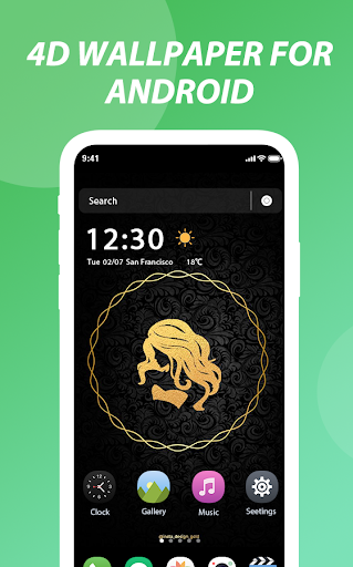 4D wallpapers for Android—Customize 4K wallpapers 1.0.0 screenshots 1
