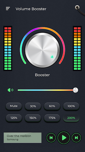 Extra Volume Booster - loud sound speaker 3.3.0 screenshots 2
