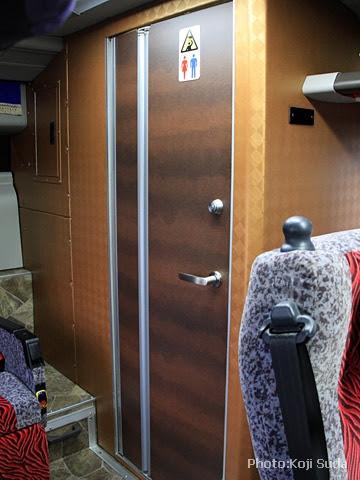北海道バス「帯広特急ニュースター号」 ・997 トイレ