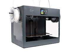 CraftBot Flow Grey IDEX 3D Printer