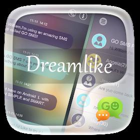 GO SMS PRO DREAMLIKE THEME
