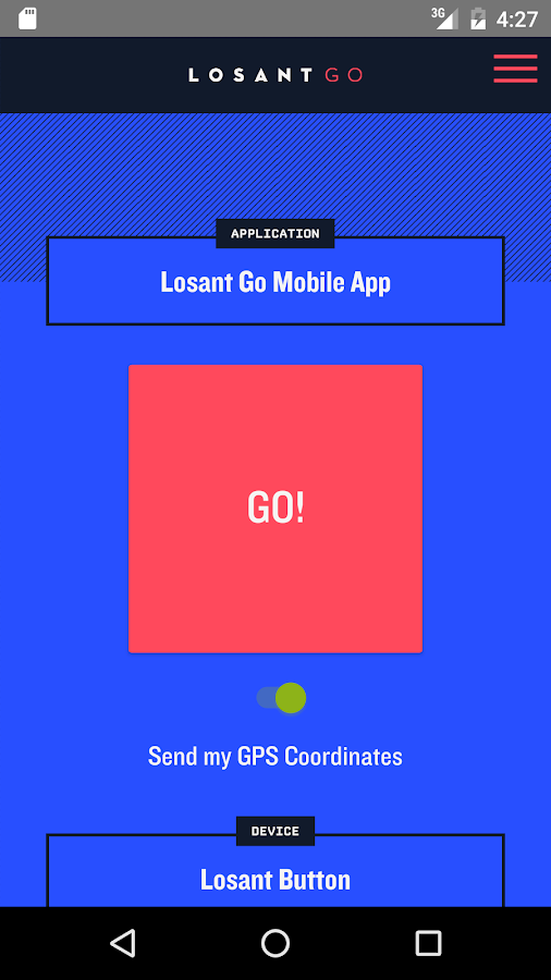 Losant Go- screenshot