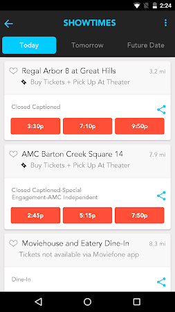 Moviefone - Movies & Showtimes 3.0.1 screenshot 81502