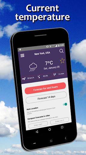 Weather Forecast free screenshot 1