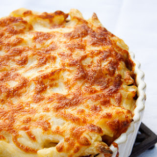 Greek Pastitisio (Baked Pasta with Ground Beef).