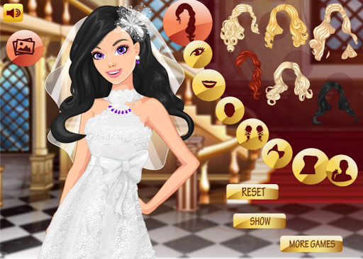Bride Makeup And Dress Up - Wedding Makeup Salon 0.0.21 screenshots 1