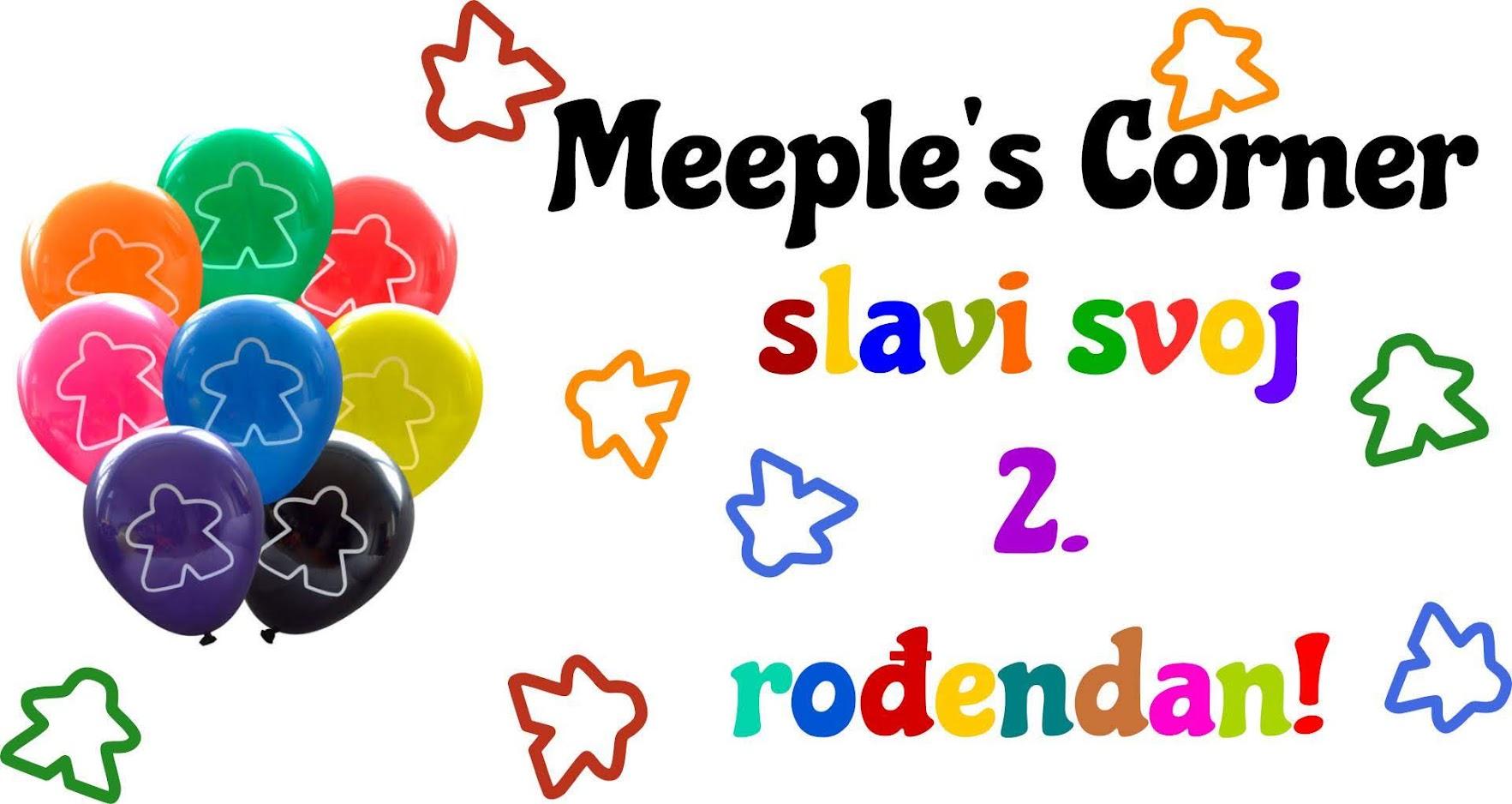 Meeple's Corner slavi 2. rođendan