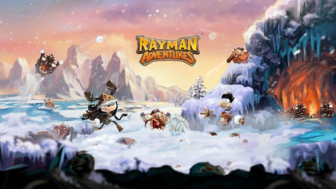 Rayman Adventures Android App Screenshot
