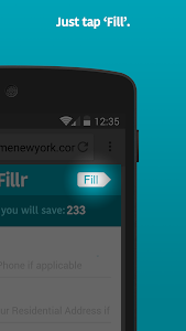 Fillr - Autofill for mobile screenshot 2