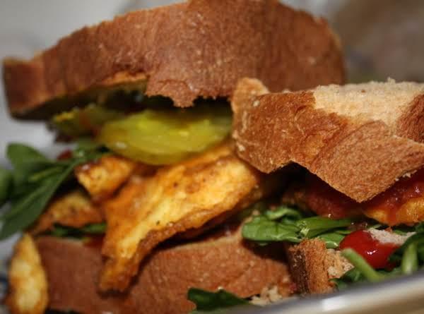 Breaded Egg Sandwiches Recipe