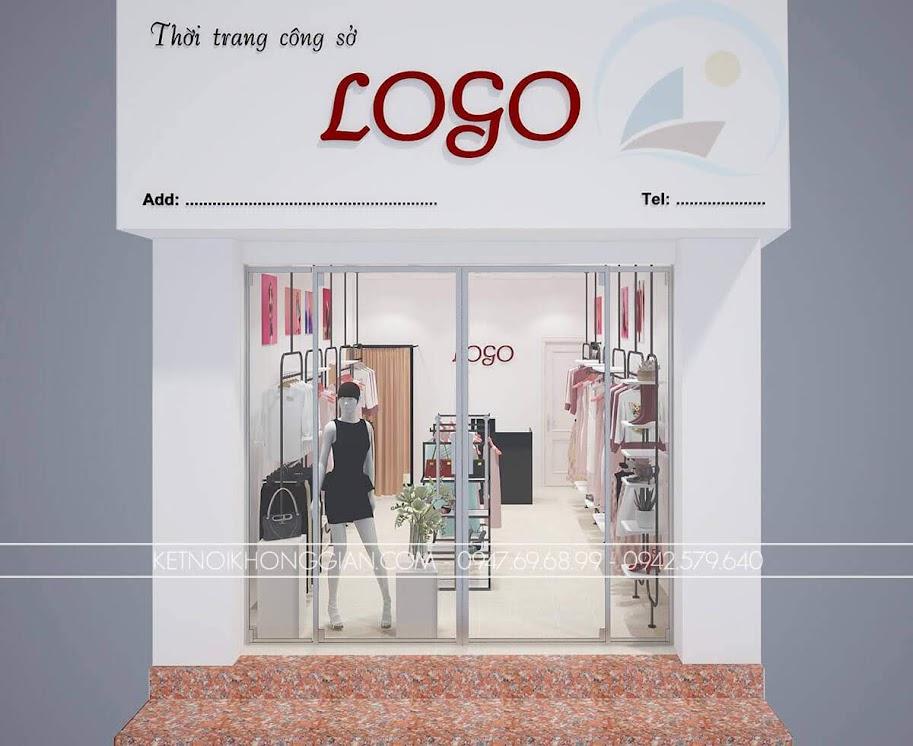 thiết kế shop thời trang giá rẻ 1