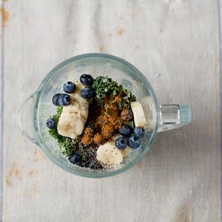 Kale-Ginger Detox Smoothie.