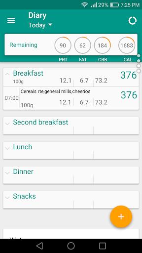 Diary of Nutrition v1.2.2 [Pro]