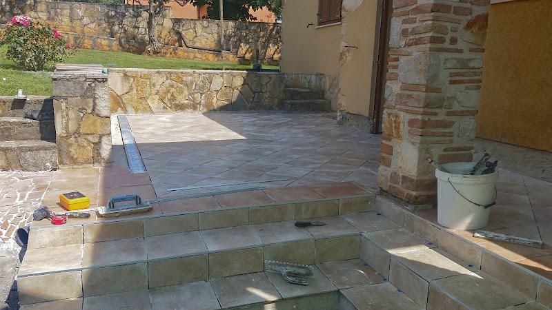 rinnovo il piccolo patio di terazuc