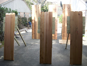 Photo: Targets for throwing knives, stars and tomahawks