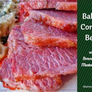Baked Corned Beef.