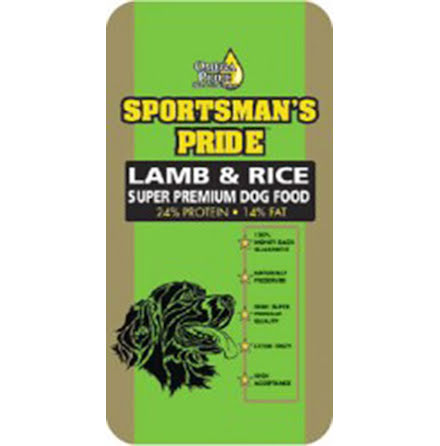 SP Lamb & Rice super premium torrfoder