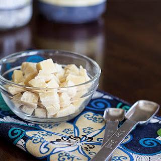 Homemade White Chocolate Chips/Chunks (raw, sugar-free and vegan!)