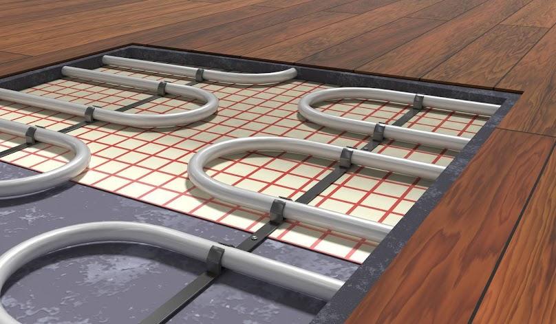 Ogrzewanie podłogowe dzieli się na 3 typy: wodne, elektryczne i powietrzne
