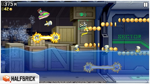 Jetpack Joyride Screenshot 1