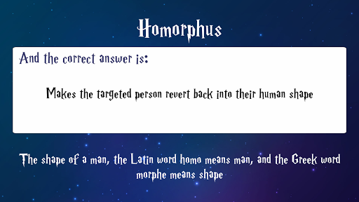 Trivia for Harry Potter Spells 1.0.1 screenshots 1
