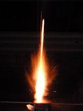Photo: da geht sie ab die Rakete