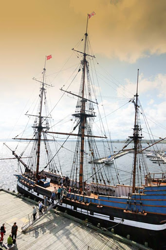 Learn about first big migration of Scottish settlers to Nova Scotia in 1773 aboard the Hector in Pictou.