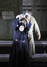 Photo: Wiener Staatsoper: PARSIFAL am 24.3.2016. Violeta Urmana, Stephen Gould. Copyright: Wiener Staatsoper/ Michael Pöhn